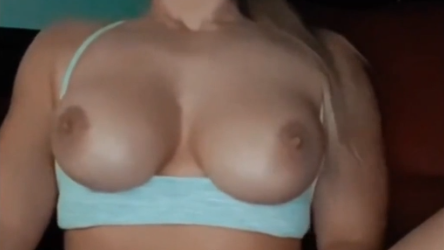 TheRealBrittFit Masturbating in a Car