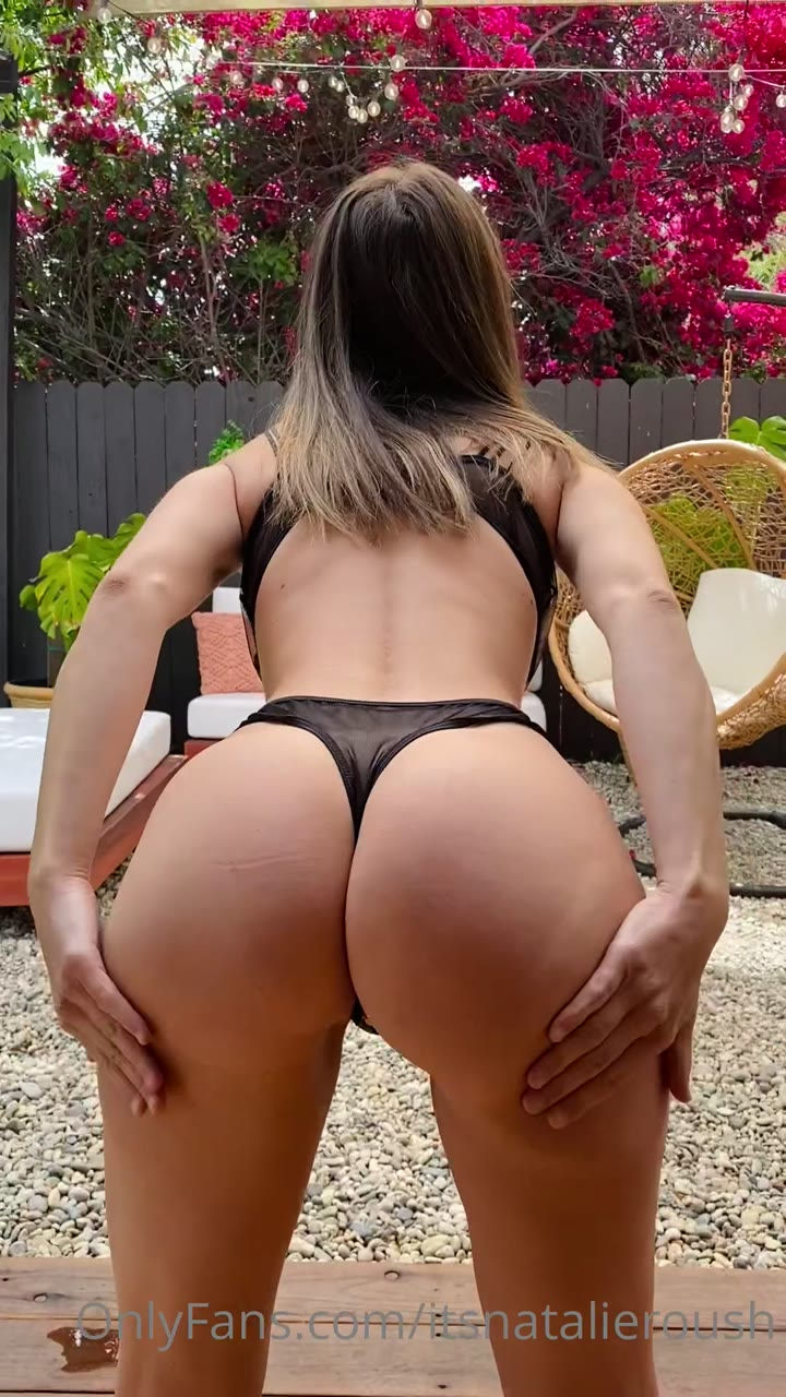 Natalie Roush Nude See Through Ass Shaking